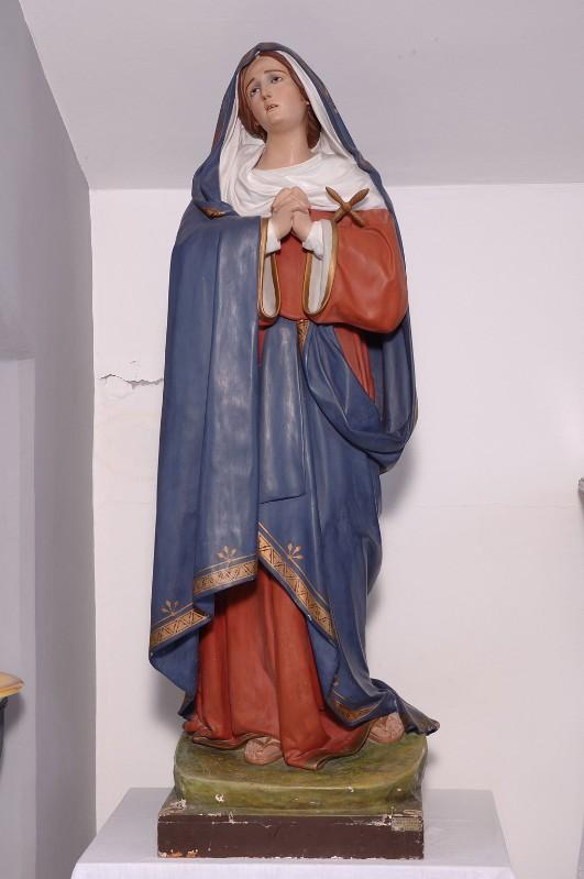 Beweb opera guacci luigi sec xx statua della madonna for Cartapesta leccese tecnica