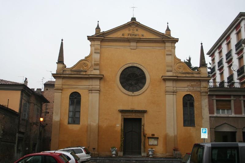 Beweb edificio chiesa di san fermo for Via san fermo milano