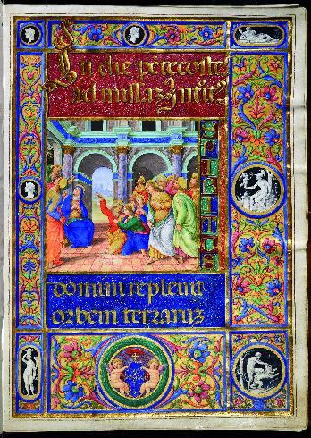 Miniatura raffigurante La Pentecoste, 1503