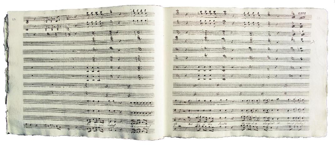 G. Rossini, Partitura autografa, 1808