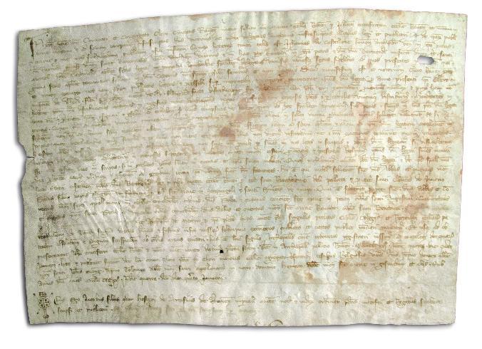 Manoscritto, 1321