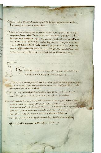 Inventario dei beni dei Templari in Bologna, 13...