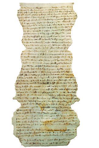 Delega del clero faentino al Concilio sui Templari, 1309