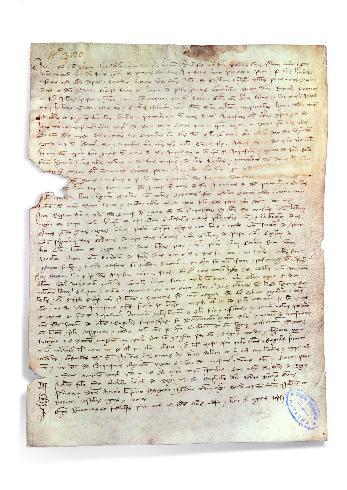 Rendiconto dei beni dei Templari in Parma, 1309