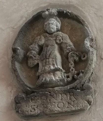 San Leonardo con le catene - stemma