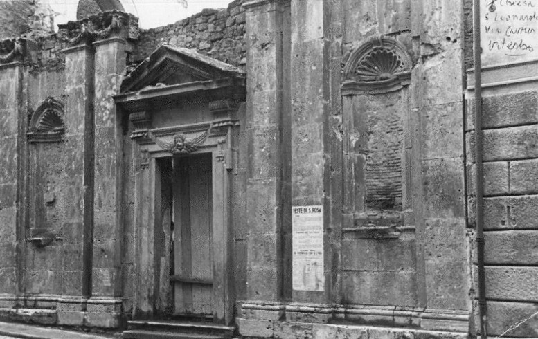 Chiesa di San Leonardo - sede della confraternita in passato