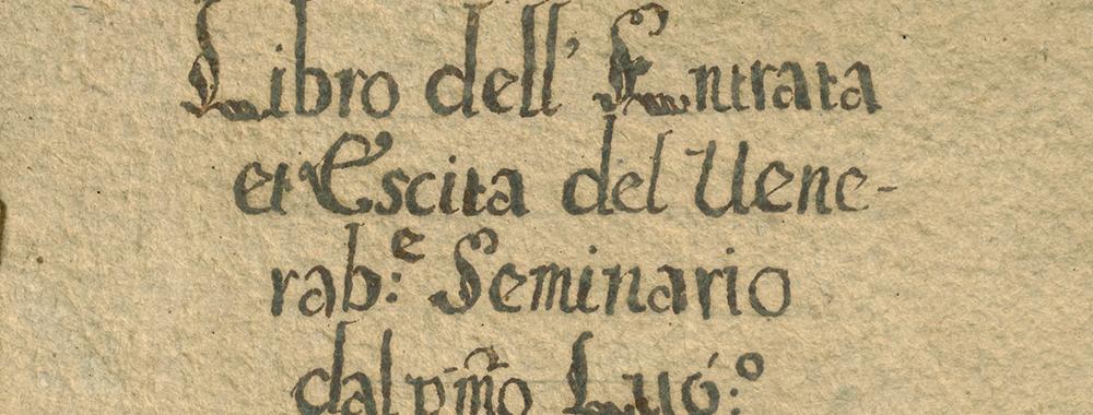 Fondo del Seminario vescovile di Città di Castello<br>Archivio storico diocesano