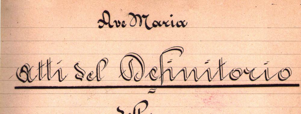 Fondo del Convento Istituto Madonna di Tirano<br>Archivio storico della Provincia veneta<br>dell'Ordine dei servi di Maria