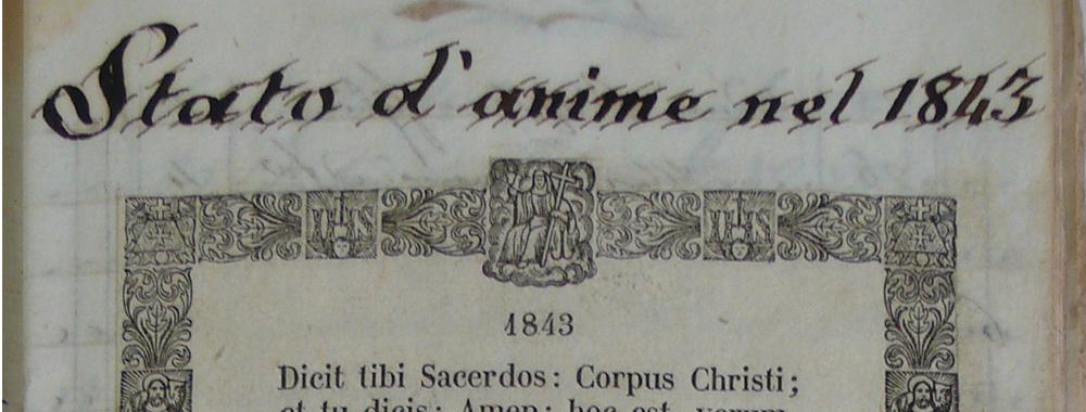 Fondo della Parrocchia di Sant'Andrea<br>apostolo in Corte Sant'Andrea<br>Archivio storico diocesano