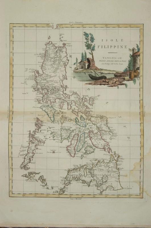 Cartina Geografica Isole Filippine.Zuliani G 1785 Carta Geografica Delle Isole Filippine 6307660