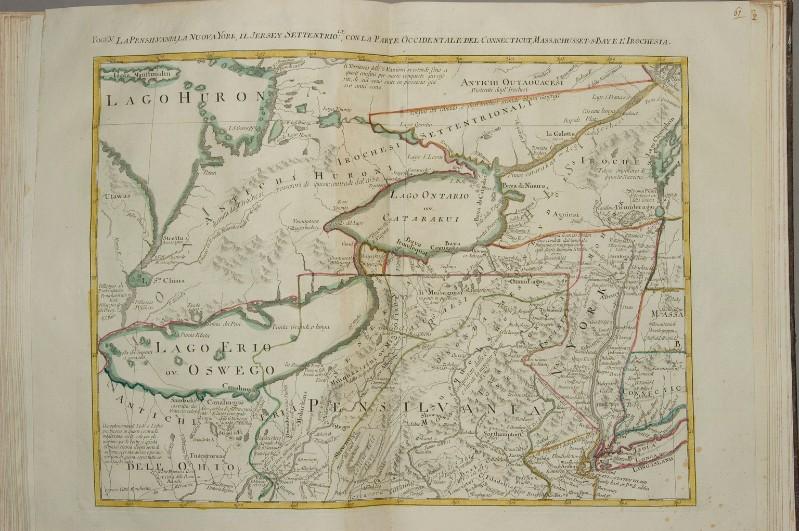 Beweb Kunstwerk Zuliani G 1778 Carta Geografica Della