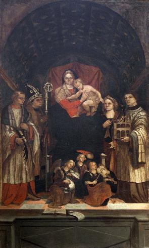 I lavori alla cattedrale di San Vincenzo languirono per buona parte del XVI secolo e nemmeno la d...