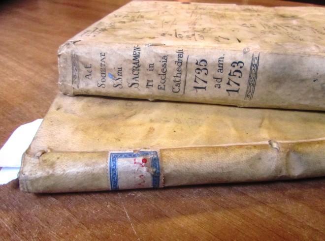 Archivio Diocesano di Viterbo, Fondo della Confraternita del Santissimo Sacramento in San Lorenzo...