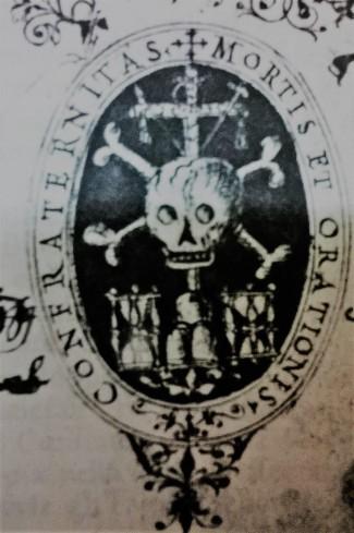 Confraternita dell'Orazione e Morte - stemma