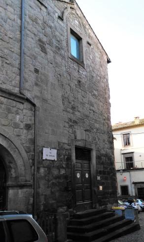 Chiesa di San Tommaso - sede della Confraternita nei secoli passati