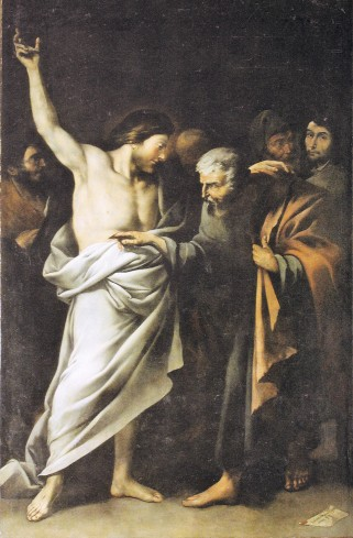 L'incredulità di san Tommaso - pala d'altare