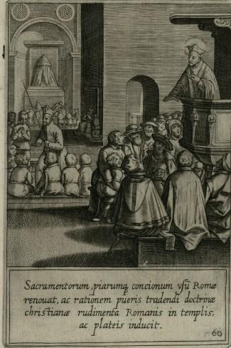 A Roma Ignazio si impegna con i giovani nell'insegnamento della dottrina cristiana, nelle chiese e nelle piazze e si adopera per edificare le pratiche spirituali
