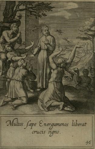 Spesso nel segno della croce libera molti posseduti