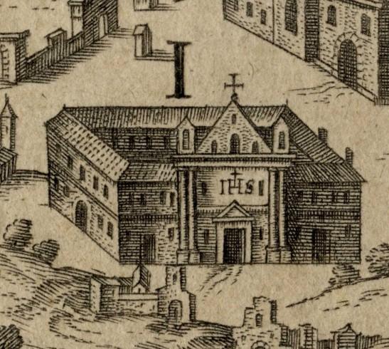I.  S. Catherina de Funarjs, Virginum in lubrico versantium portus - Convento di Santa Caterina per le Vergini In pericolo