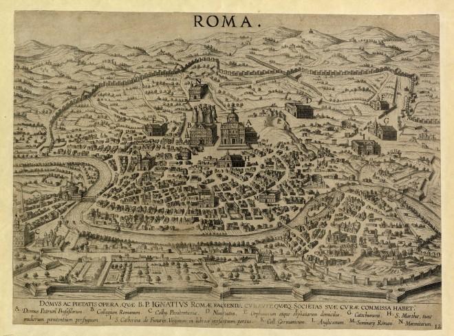 Pianta Ignaziana di Roma