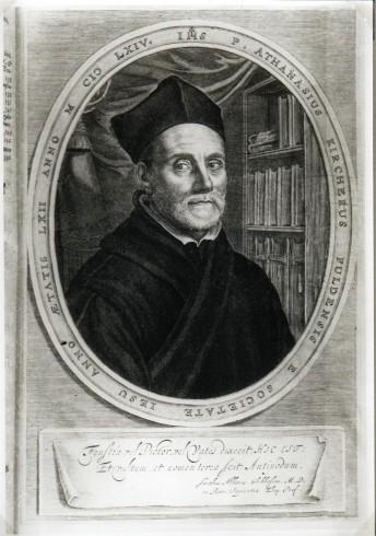 Ritratto di Athanasius Kircher