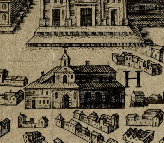 H. S. Marthae, tunc mulierum paenitentium per fugium - Santa Marta il rifugio per le donne penitenti
