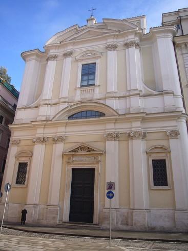 La facciata della Chiesa di Sant'Apollinare