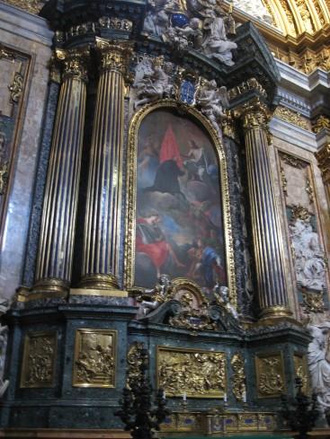 Altare Cappella di Sant'ignazio
