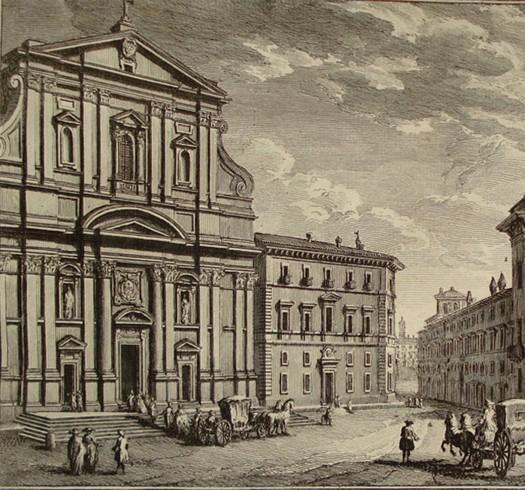 Casa Professa e Chiesa del Gesù dei PP. Gesuiti.