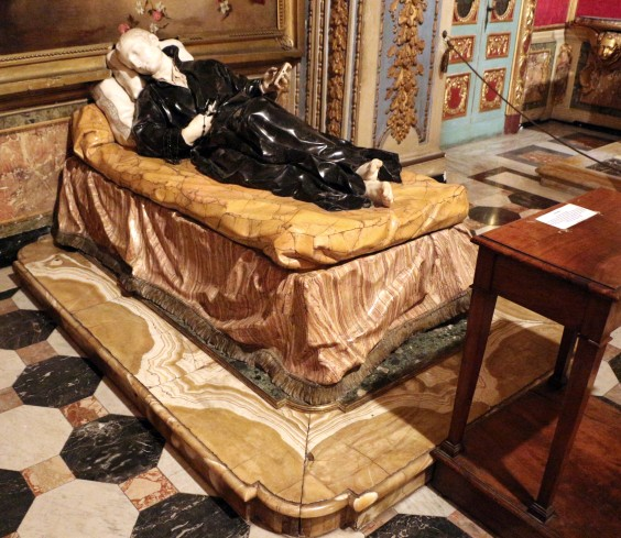 San Stanislao Kostka morente di Pierre Legros.