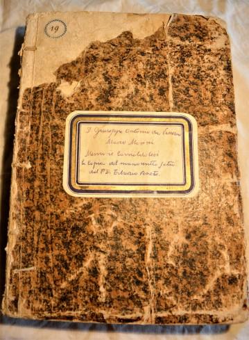 Don Giuseppe Antonio da Venezia, Marco Munni: Memorie Camaoldolesi. La copia del manoscritto di P. Tiburzio da Venezia