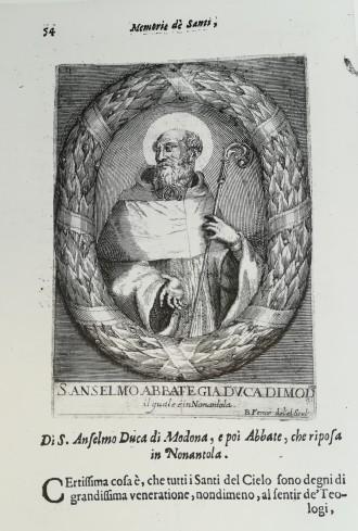Ludovico Vedriani, Memorie di molto Santi Martiri, Confessori e Beati modonesi, Modena, Cassiani, 1663, Vita di S. Silvestro Papa, p.54.