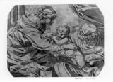 Ambito italiano sec. XVII, Sacra famiglia
