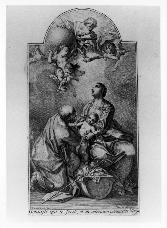Buratto G. B. (post 1765), Sacra famiglia