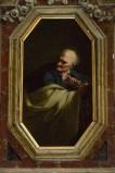 Ambito napoletano sec. XVII, Isaia in olio su tela