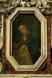Ambito napoletano sec. XVII, Geremia in olio su tela