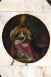Ambito napoletano sec. XVIII, Sant'Agostino in olio su tela