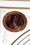 Ambito dell'Italia meridionale sec. XIX, Sant'Aldegonda in olio su tela