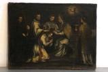 Ambito napoletano sec. XVIII, Ordinazione in olio su tela