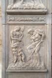 Della Quercia J. (1426), Dio consegna gli strumenti di lavoro ad Adamo ed Eva