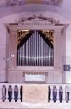 Bott. napoletana sec. XX, Organo in legno dipinto