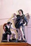 Bott. napoletana prima metà sec. XIX, Tobia e San Raffaele arcangelo