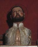 Bottega laziale sec. XIX, Reliquiario a busto