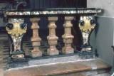 Bottega piemontese sec. XVII, Balaustrata con colonnine