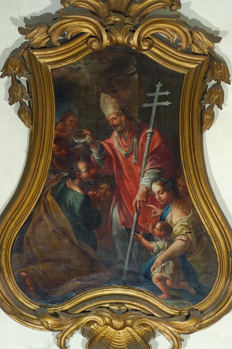 Barbiani A. (1757), Dipinto S. Apollinare battezza il tribuno