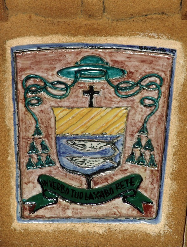 Bott. siciliana sec. XX, Stemma del vescovo Mancuso 2/2