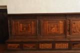 Da Lendinara C. - Da Lendinara B. (1487-1491), Cassapanca con schienale