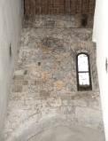 Ambito pisano sec. XIII, Dipinto murale con cerchi policromi