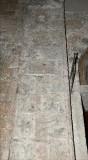Ambito pisano sec. XIII, Dipinto murale con foglie e girali