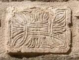 Ambito Italia centrale secc. X-XI, Bassorilievo con intreccio